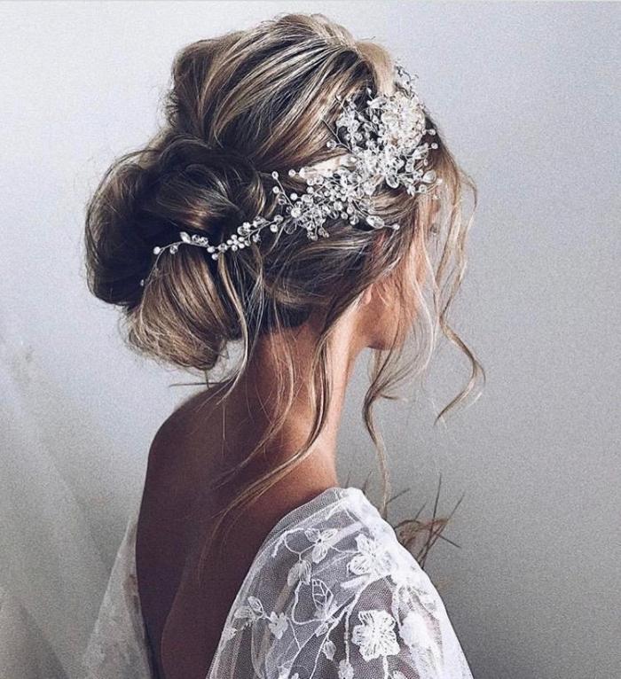Dreamy Bridal Hair Vines Beautiful Bridal Hairstyle