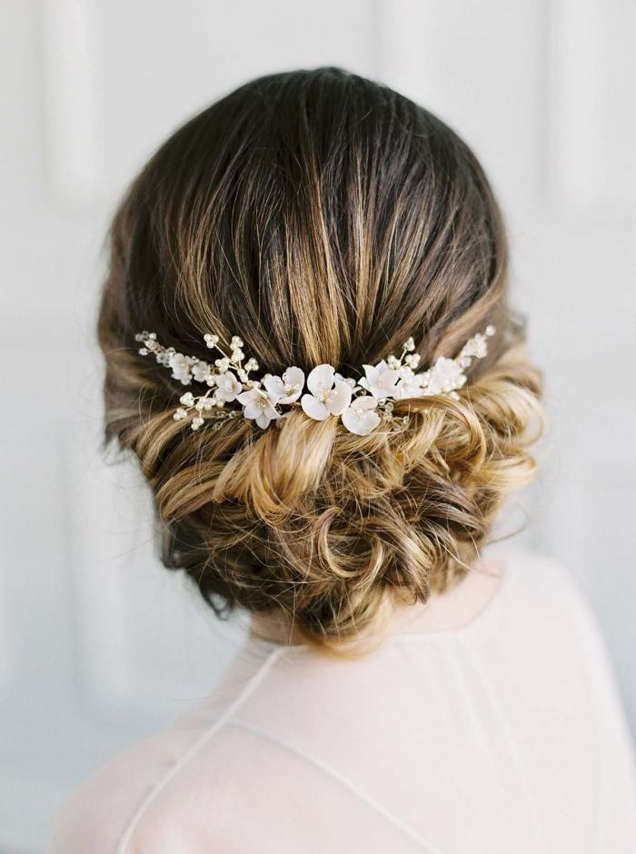 bridal hair comb etsy