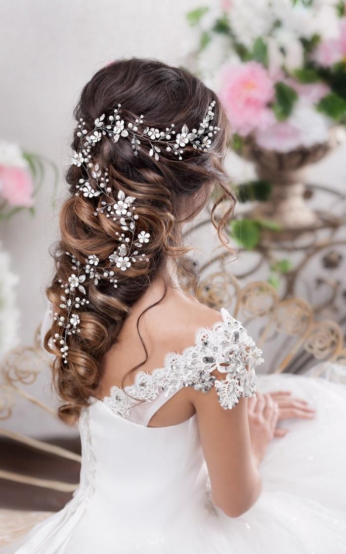 floral bridal hair accessory etsy