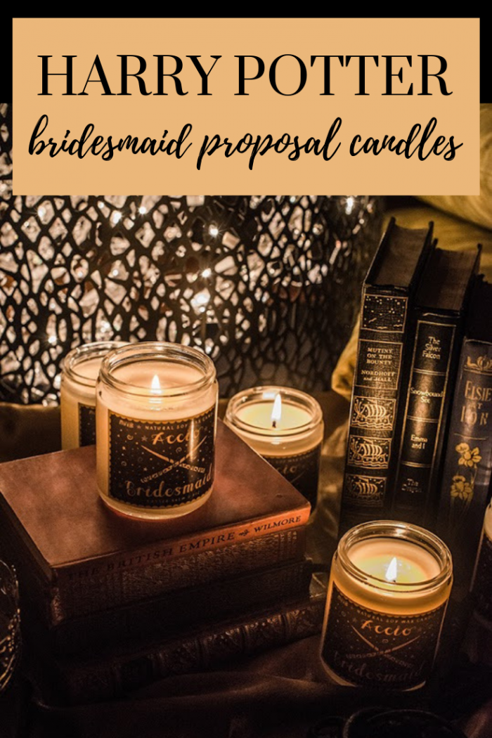 harry potter candles book themed wedding