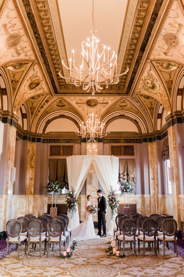 royal hotel styled wedding