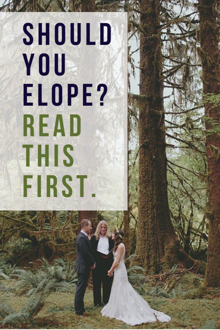 elopement questions
