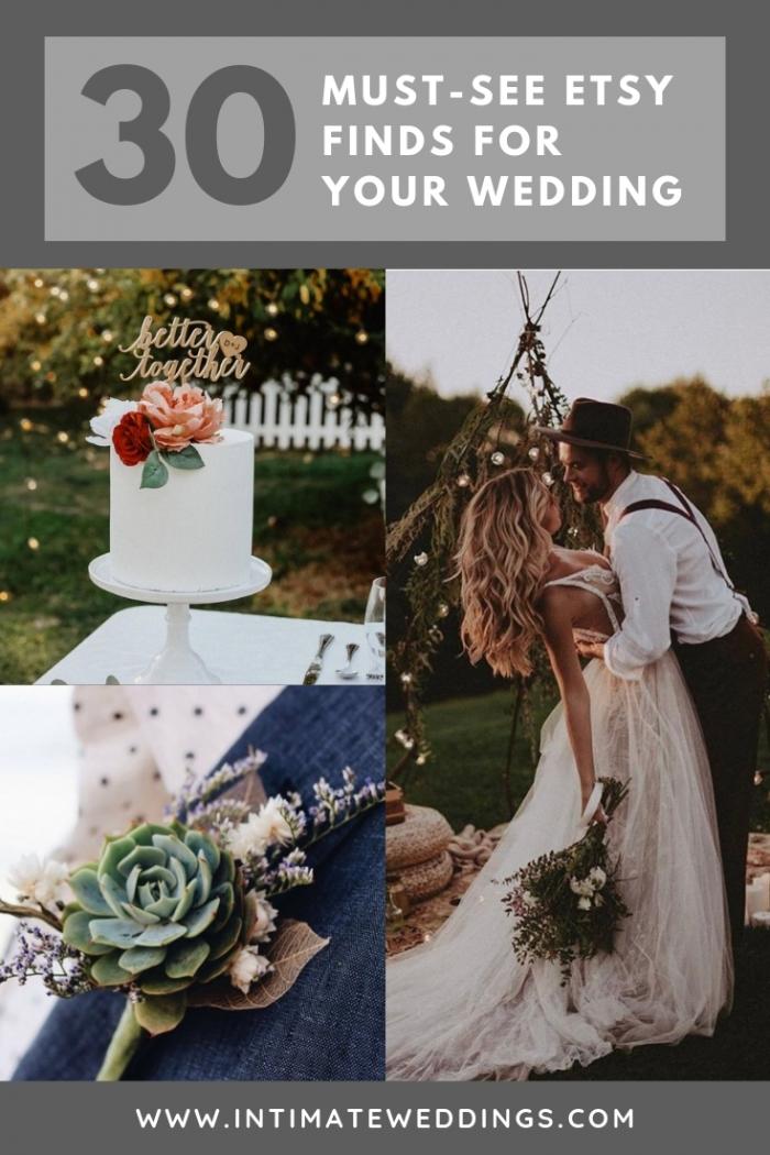 etsy wedding ideas intimate weddings