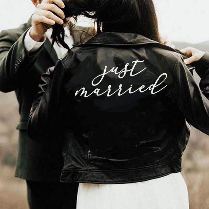 bridal jacket iron on