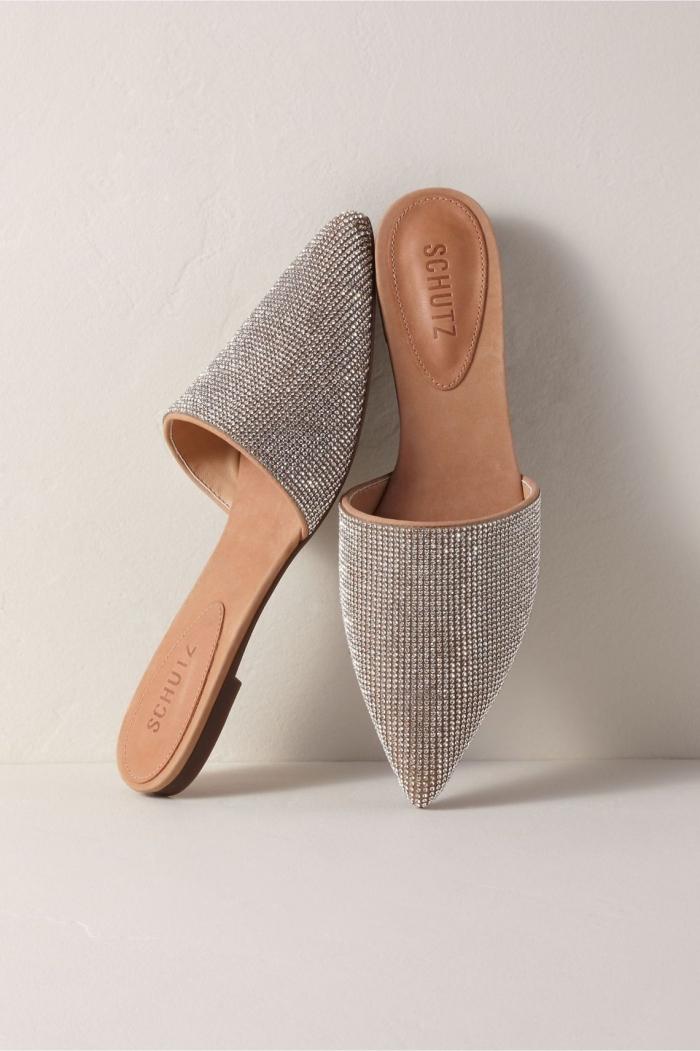 sparkle bridal sandles