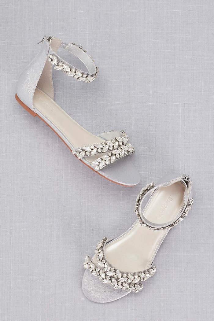 bridal sandals davids bridal shoes