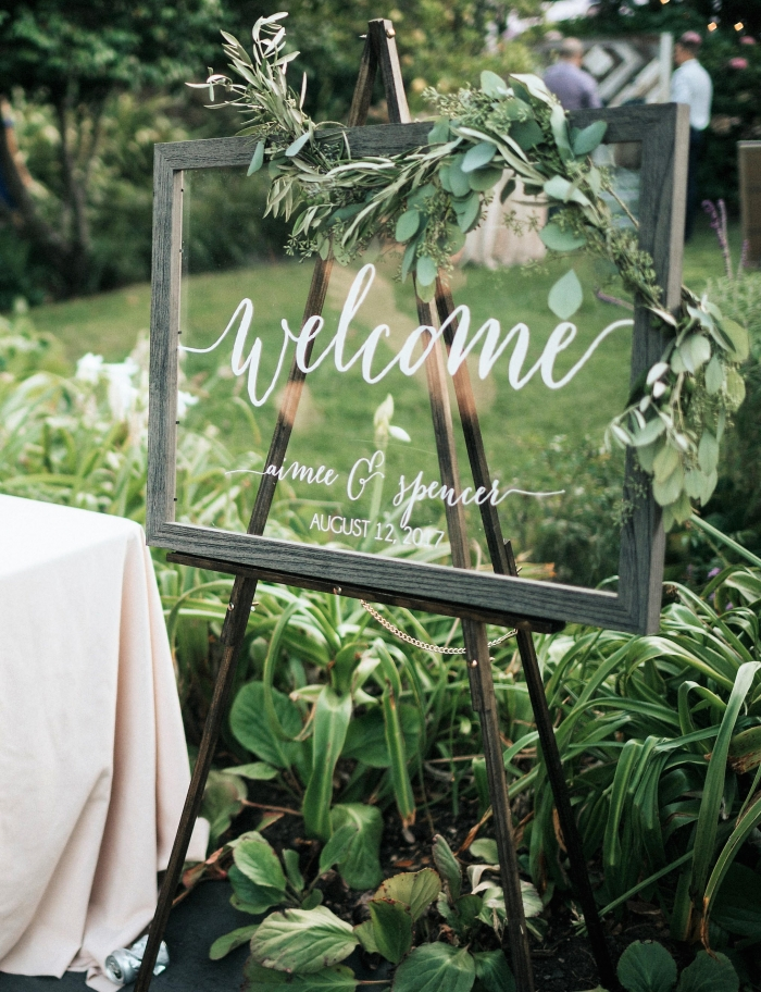 wedding welcome sign etsy wedding sign rustic modern