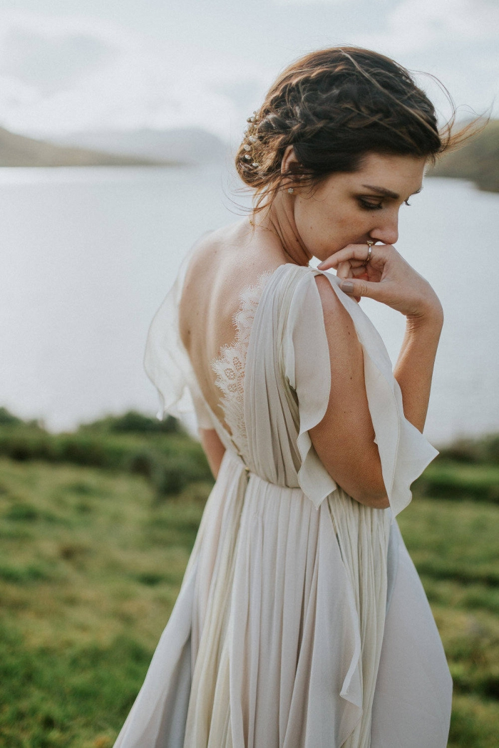 beach wedding dress etsy