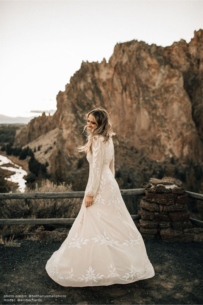 wedding dress bhldn