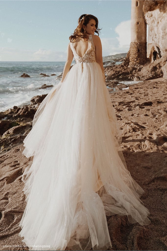bhldn beach wedding dress