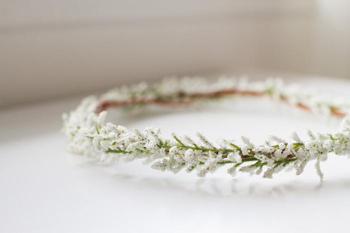 flower crown simple etsy