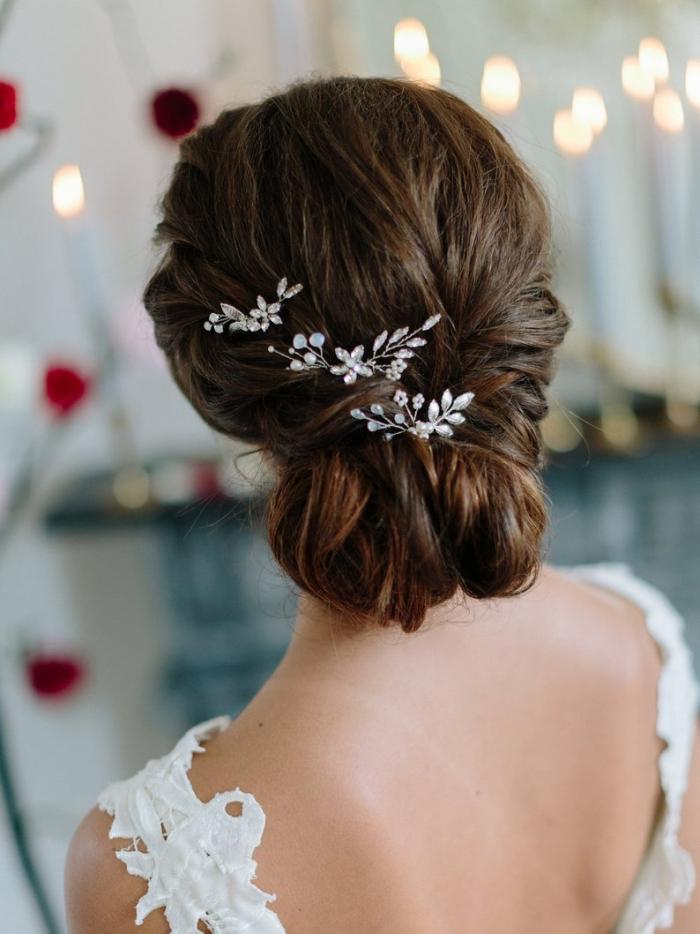 bridal hair pins etsy