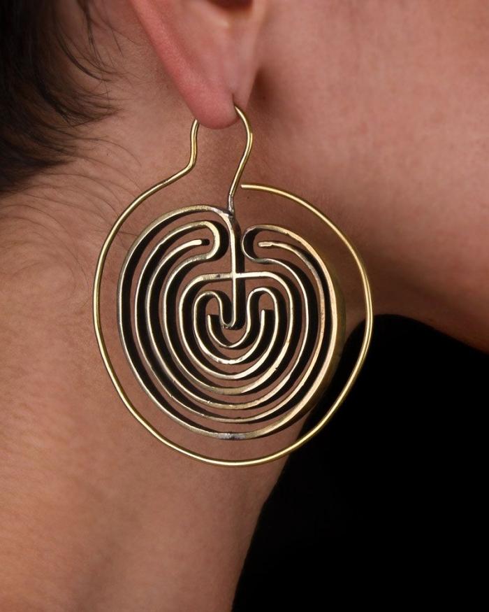 hoop earrings etsy