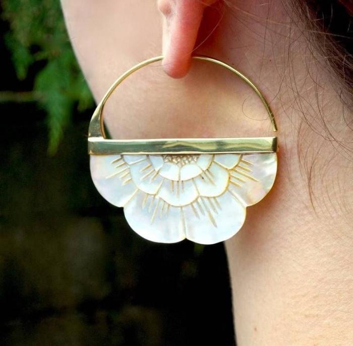 boho bridal earrings etsy