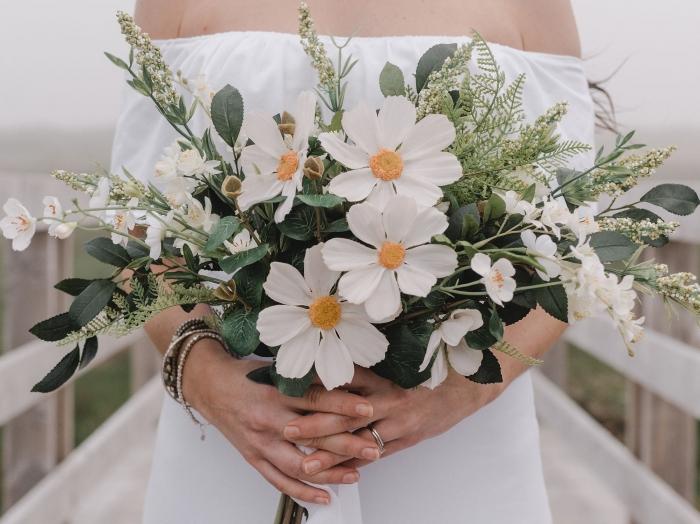 bridal bouquet etsy wedding
