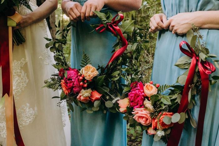 floral bouquet bridesmaid