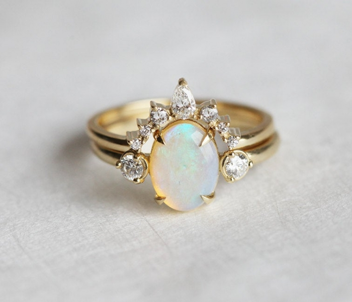 cool engagement ring