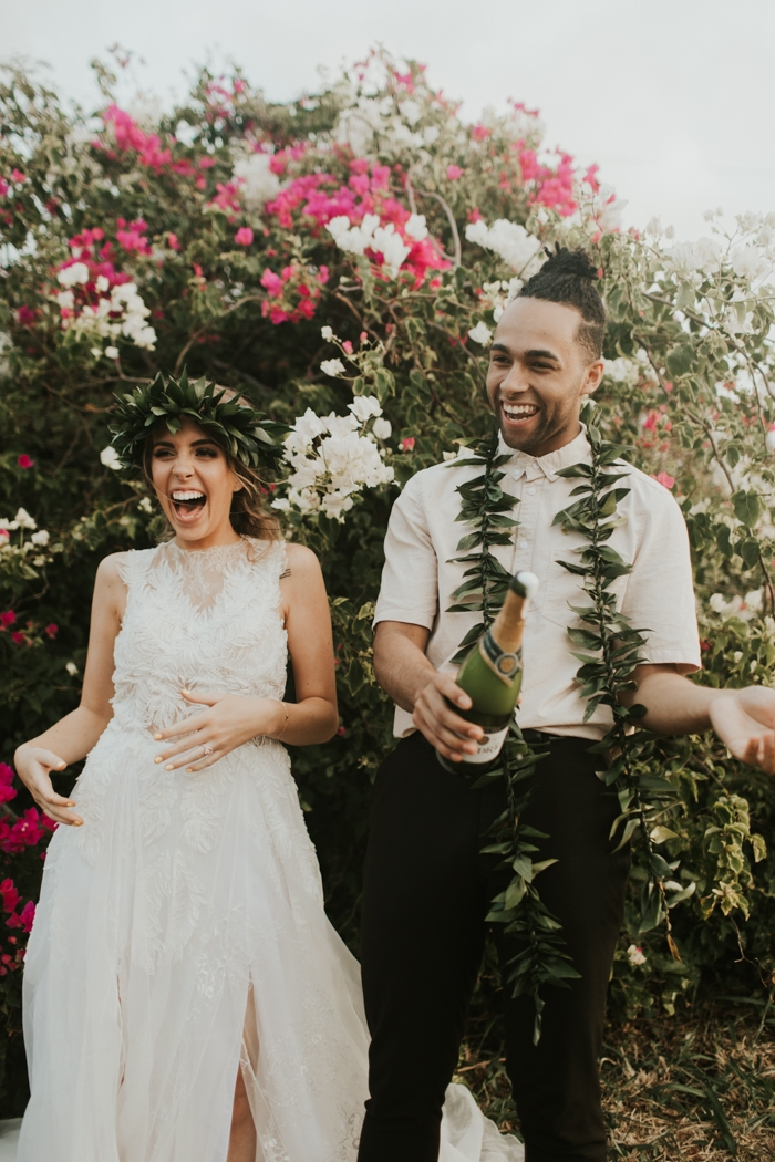 hawaii styled elopement