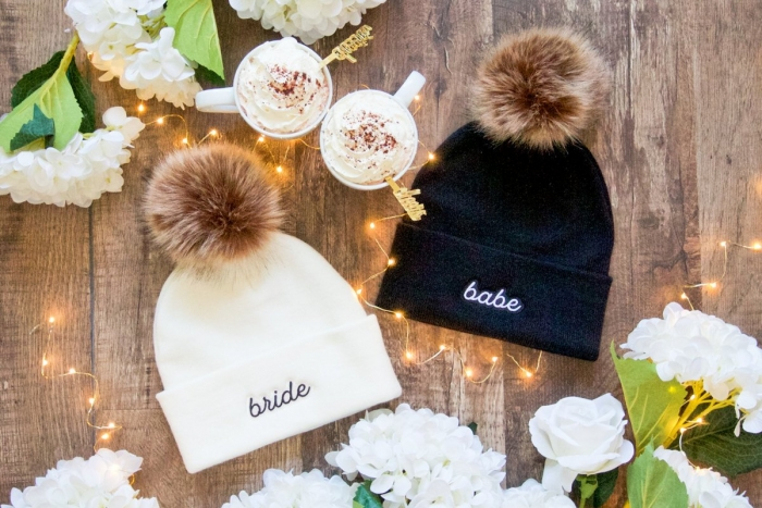 bridesmaid hats etsy
