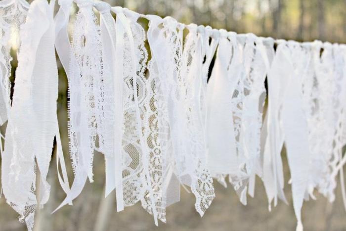 handmade bunting for wedding diy