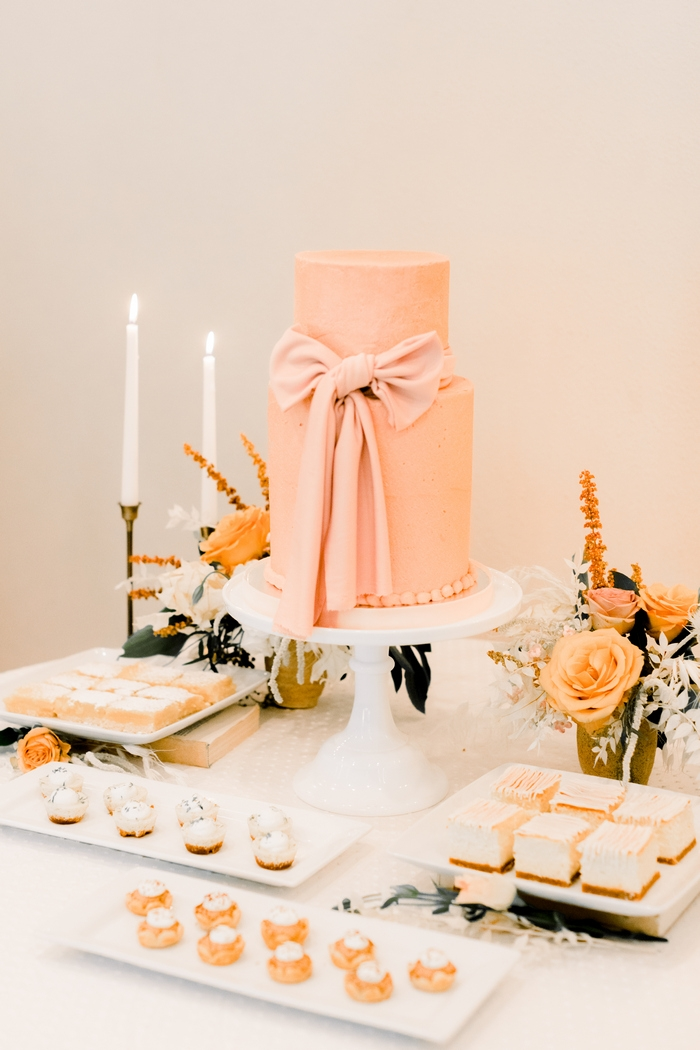 champagned styled shoot