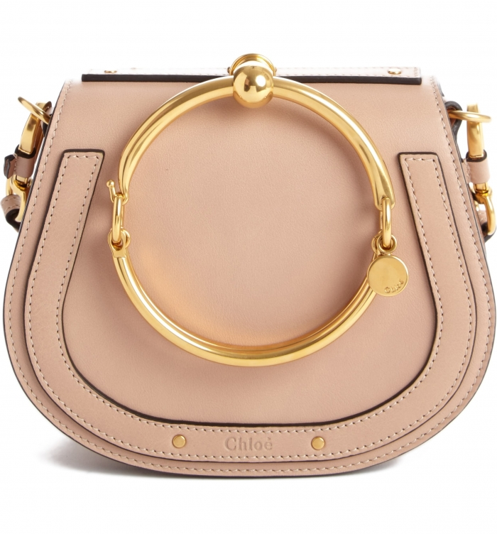 designer purse blush nordstrom