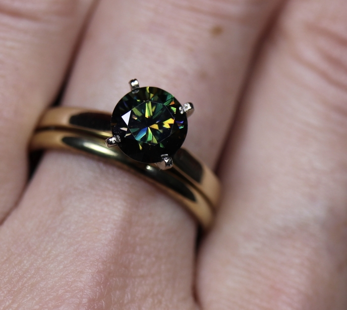 unqiue engagement ring etsy