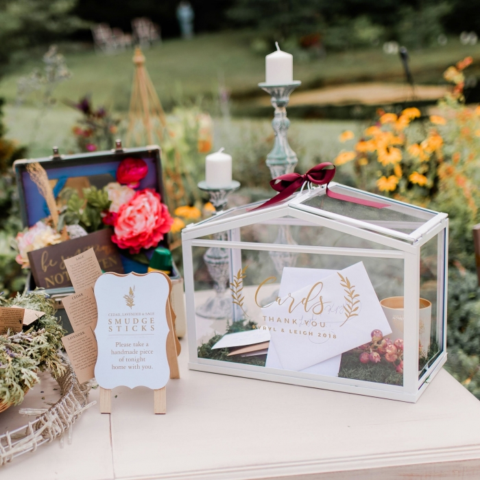 card box wedding etsy