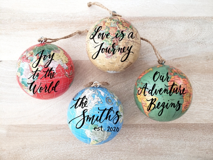 traveler christmas ornament