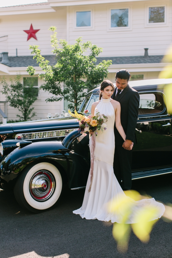 chic styled shoot