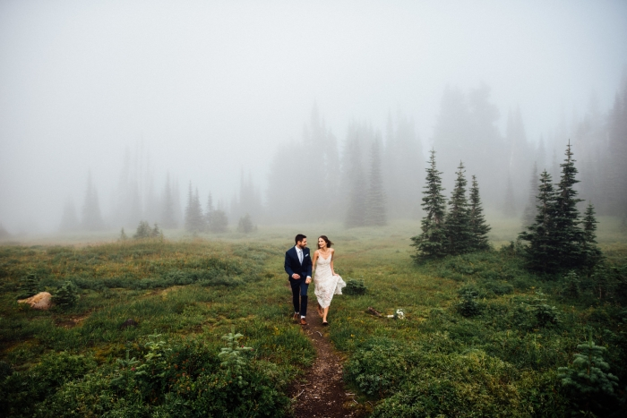mt rainer elopement