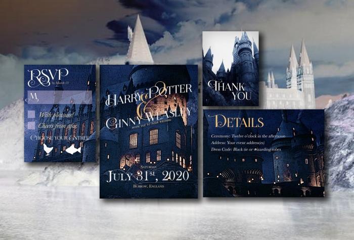 Accio Harry Potter Wedding 12 Magical