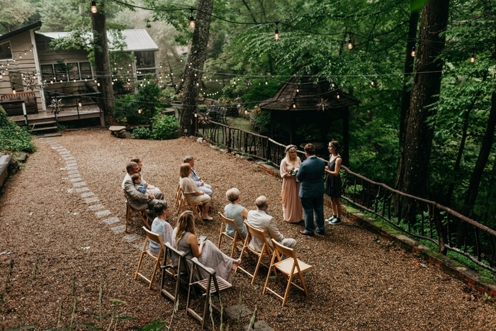 intimate wedding in nc