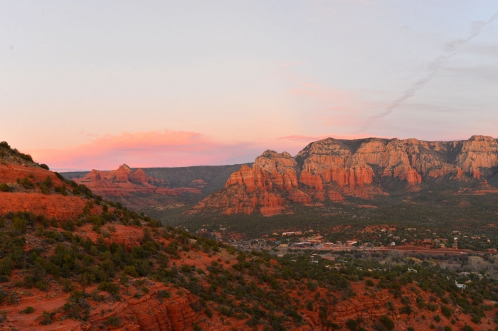 arizona sedona sunset