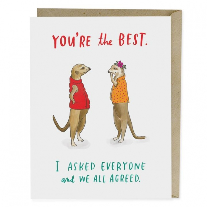 animal greeting card valentines cute