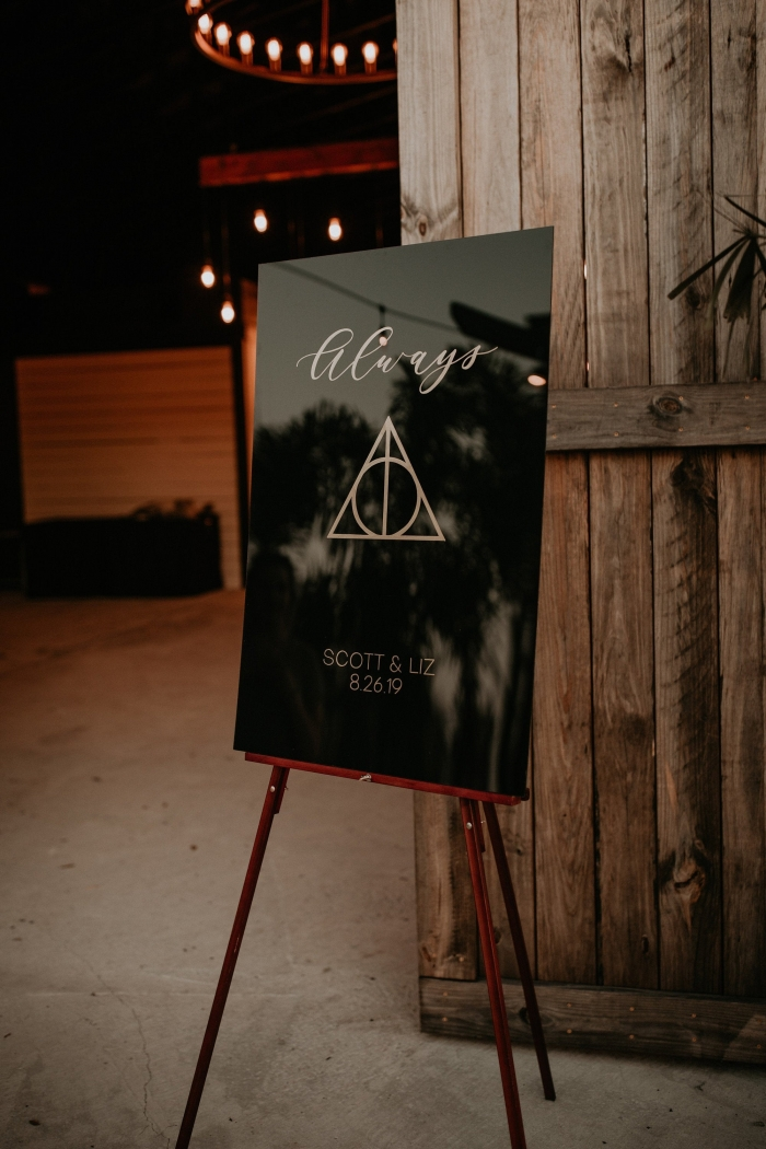 harry potter wedding elegant