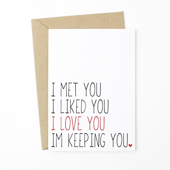 love card for boyfriend