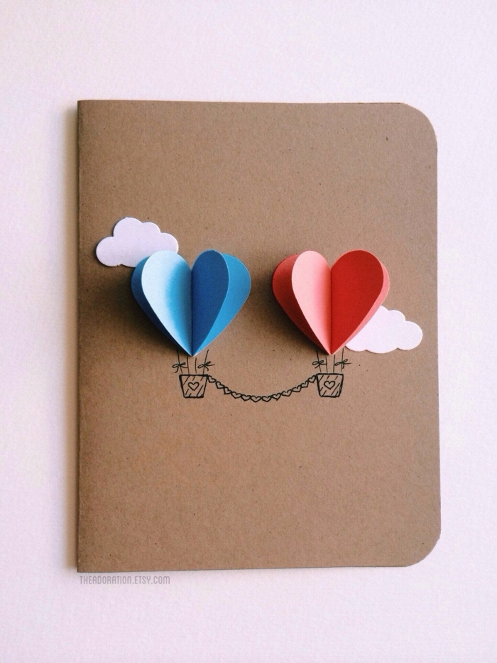 love card for girlfriend or boyfriend gift