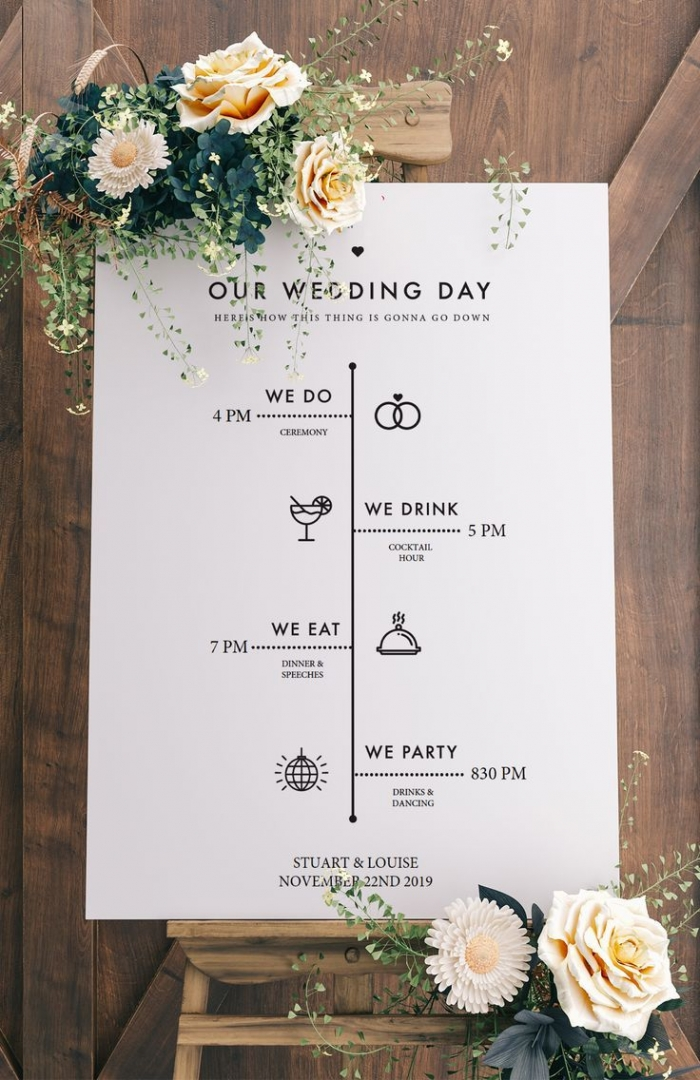 wedding program etsy unique intimate wedding planning ideas
