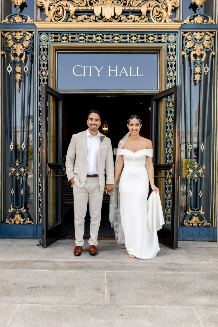 Haleh And Mitchell S Simple And Sweet San Francisco City Hall Wedding Intimate Weddings Small Wedding Blog Diy Wedding Ideas For Small And Intimate Weddings Real Small Weddings,Evening Dresses For Wedding Guests