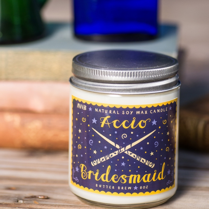 harry potter bridesmaid gift