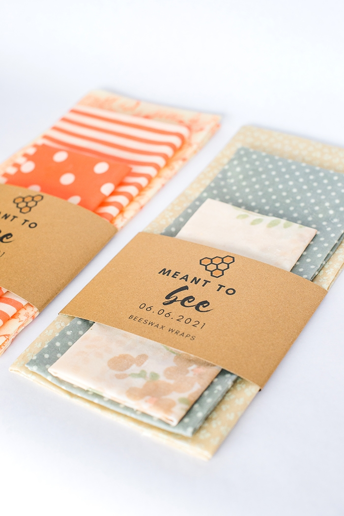 diy beeswax wraps with free printables