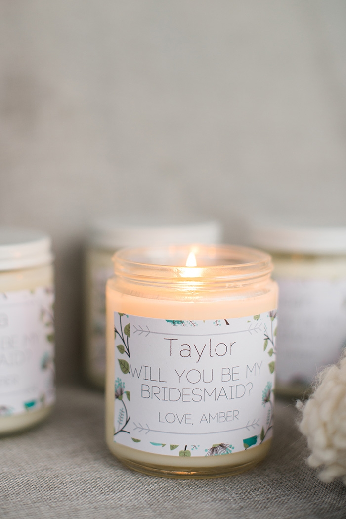 diy lavender soy candles