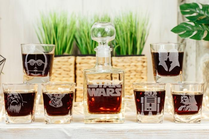 star wars wedding groomsmen gift