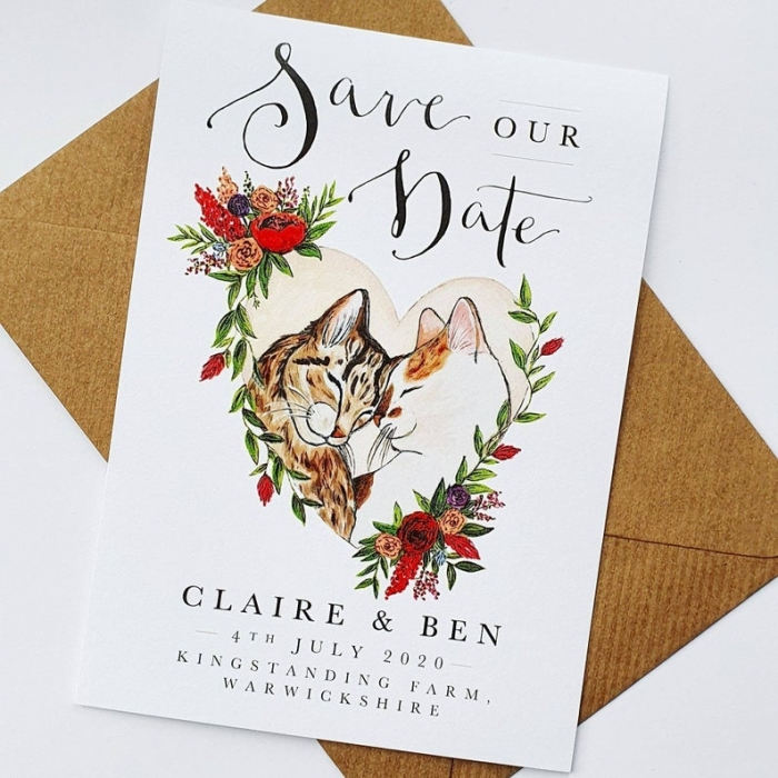custom illustrated wedding invitations etsy unique wedding ideas