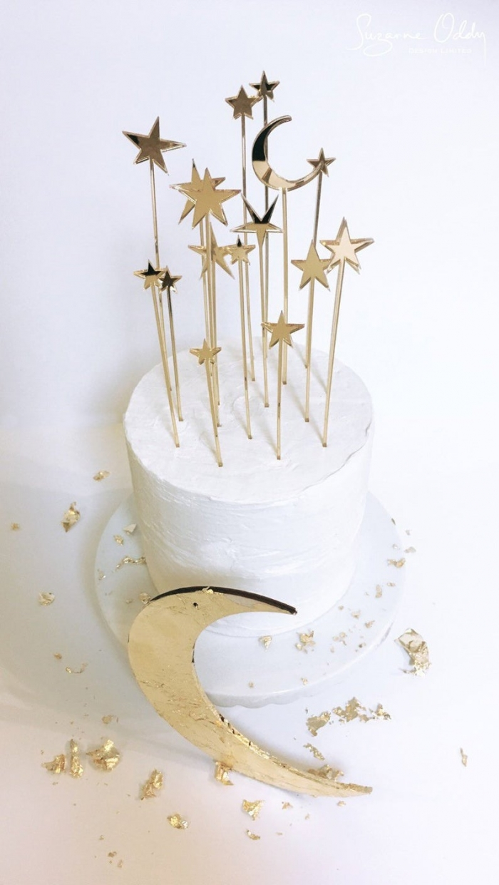 star wedding cake topper