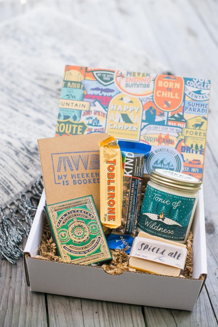 adventure gift box for her