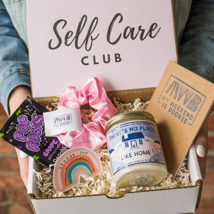self care gift box for her