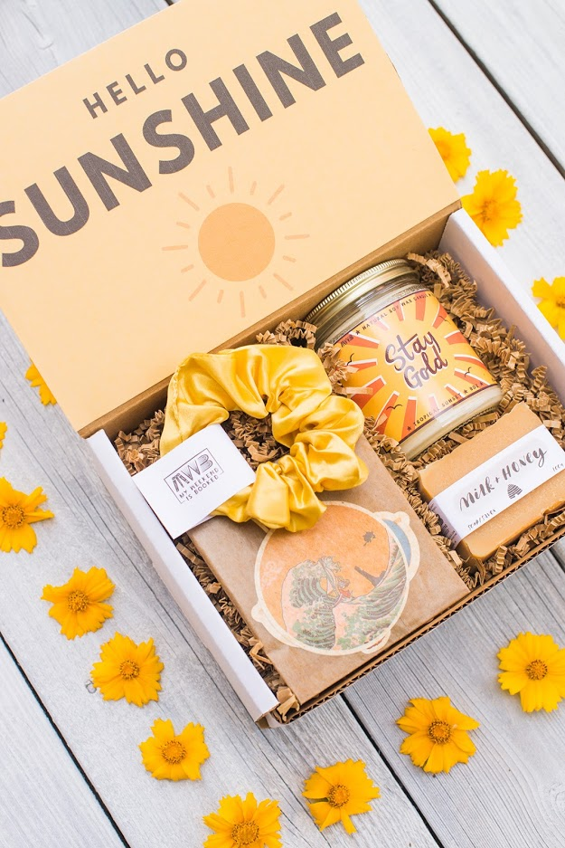 box of sunshine gift for her