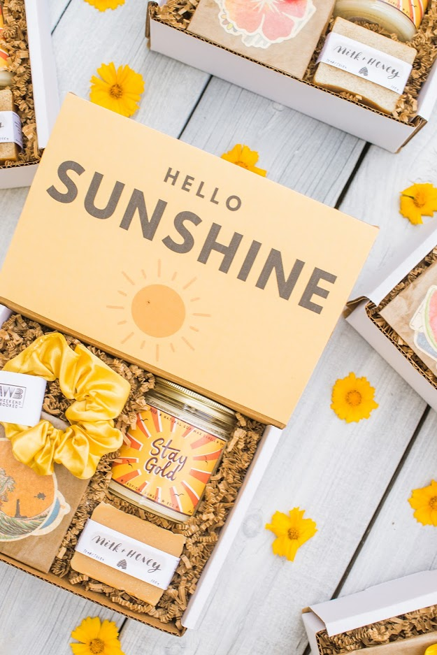 box of sunshine gift box for her